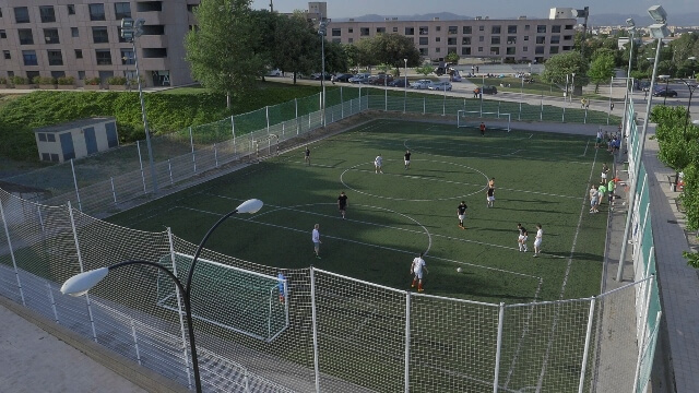 Futbol field Vila Universitària