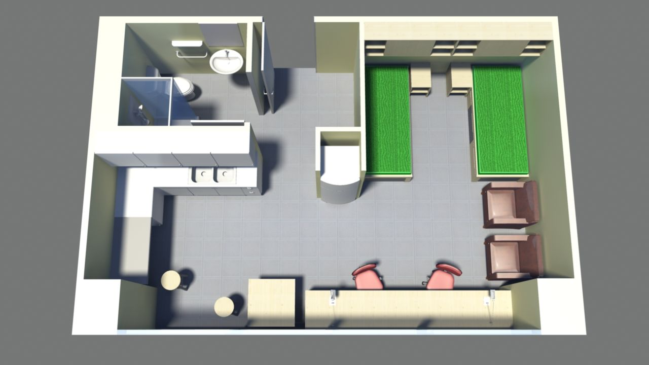 Floor plan - premium studio